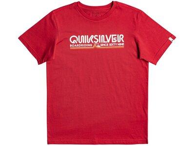 QUIKSILVER Kinder T-Shirt LIKEGOLDSSYT B TEES Rot