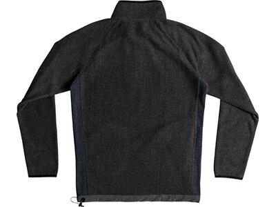 QUICKSILVER Herren Gebondetes Sweatshirt mit Halbreißverschluss Waterman Bigger Boat Schwarz