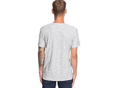 QUIKSILVER Herren T-Shirt Ken Tin Silber