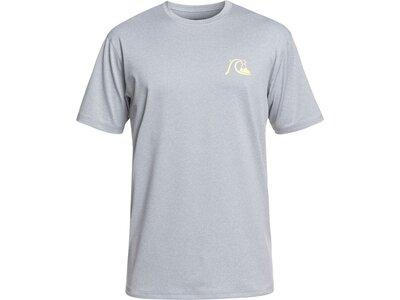 QUIKSILVER Herren Kurzärmliges Surf-T-Shirt mit UPF 50 El Capitan Silber