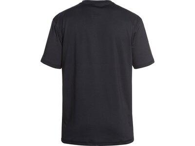 QUIKSILVER Herren Kurzärmliges Surf-T-Shirt mit UPF 50 Razors Schwarz