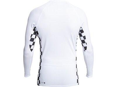 QUIKSILVER Herren Shirt ARCH THIS LS M SFSH Weiß