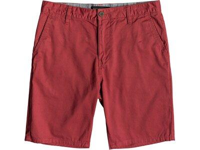 QUIKSILVER Herren Chino-Shorts Everyday Rot