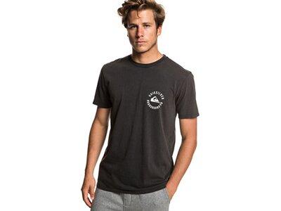 QUIKSILVER Herren T-Shirt Skulled Schwarz