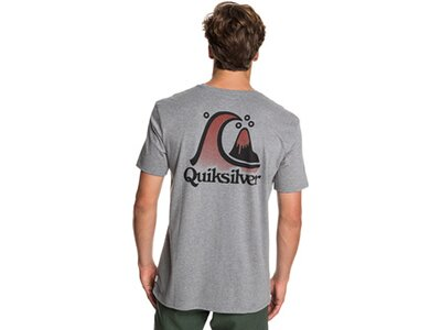 QUIKSILVER Herren T-Shirt Captain Slim Grau