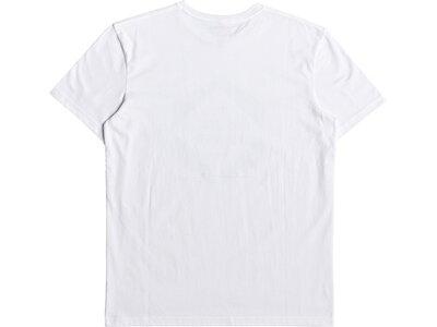 QUIKSILVER Herren T-Shirt Hexa Logo Weiß