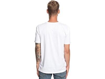 QUIKSILVER Herren T-Shirt Stomped On Weiß