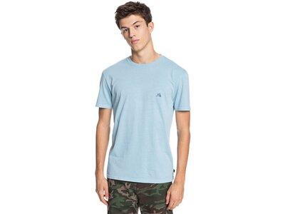 QUIKSILVER Herren T-Shirt BASICBUBBLEEMBY M TEES Silber