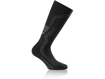 ROHNER Socken compression ski light l/r Grau