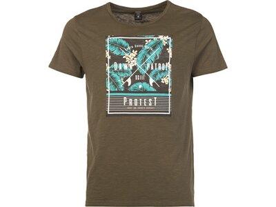 PROTEST Herren Domino T-shirt Braun