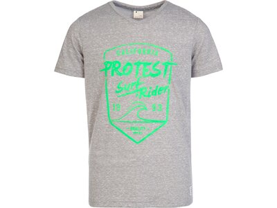 PROTEST EVERTON JR T-Shirt Silber