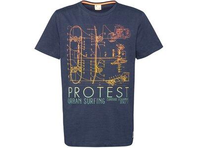 PROTEST Kinder Shirt BOLTON Blau