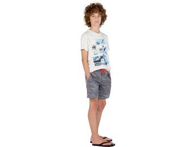 PROTEST Kinder Oluf T-shirt Silber