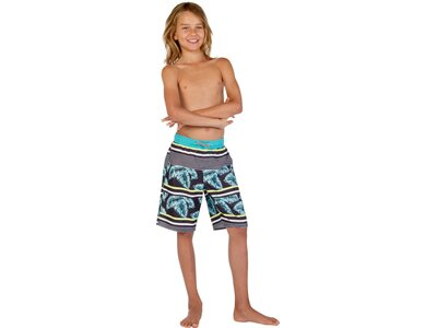 PROTEST Kinder Brem Beachshort Grau
