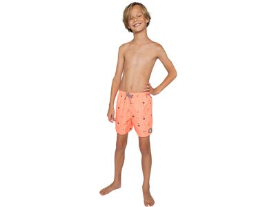 PROTEST Kinder Badeshorts ROCCO Orange