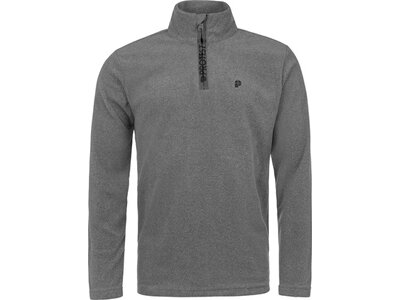 PROTEST PERFECTYM 1/4 Zip Top Grau