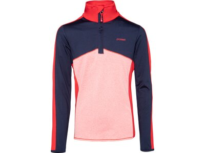 PROTEST Kinder BISLEY 1/4 zip top Pink