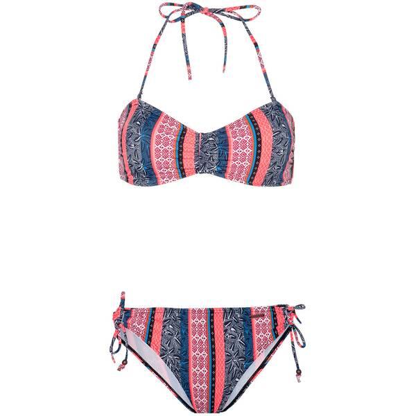 Bademode - PROTEST Damen BARBERA 20 Bandeau Bikini › Pink  - Onlineshop Intersport