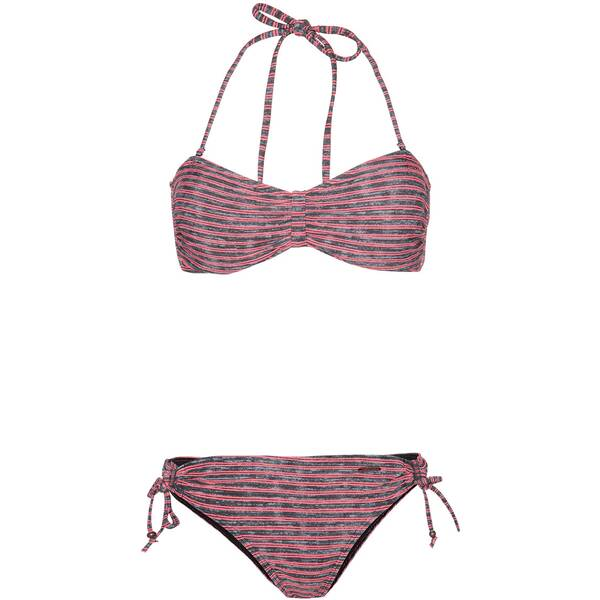 Bademode - PROTEST Damen BARBERA 20 Bandeau Bikini › Grau  - Onlineshop Intersport