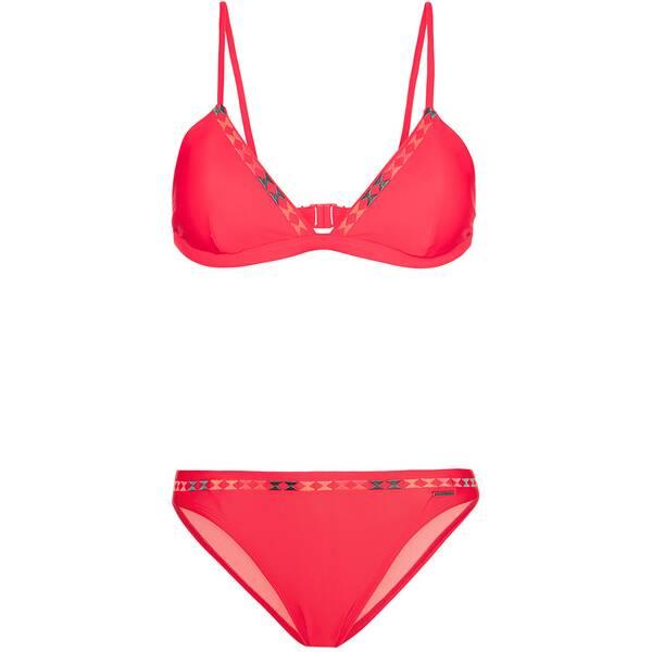 Bademode - PROTEST Damen Bikini LOVINO › Rot  - Onlineshop Intersport