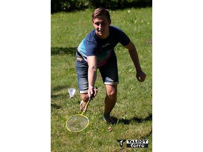Talbot-Torro Badmintonschläger Attacker Grün