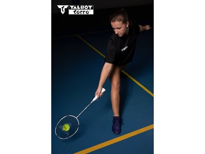 Talbot-Torro Badmintonschläger Isoforce 1011.8 Silber