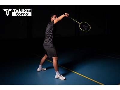 Talbot-Torro Badmintonschläger Isoforce 651.8 Gelb