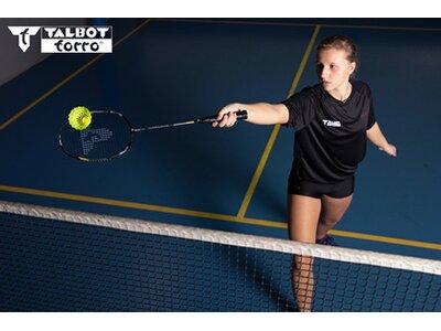 Talbot-Torro Badmintonschläger Isoforce 9051.8 Tato Dura Grau