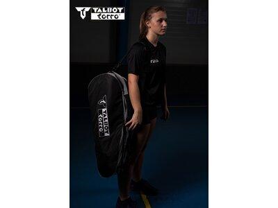 Talbot-Torro Badminton Racketbag Grau