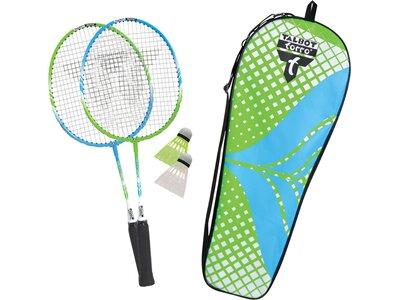 """Talbot-Torro Badminton Set """"2 Attacker Junior"""" Grün"""