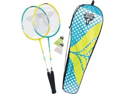 "Talbot-Torro Badminton Set ""2 Fighter"" Gelb"
