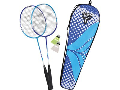 TALBOT/TORRO Badmintonset 2-FIGHTER PRO IM THERMOBAG Blau