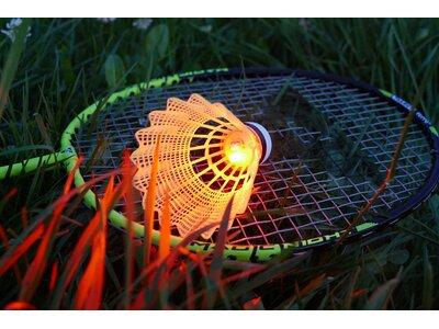 TALBOT/TORRO Badmintonset MAGIC NIGHT LED IM THERMOBAG Grün