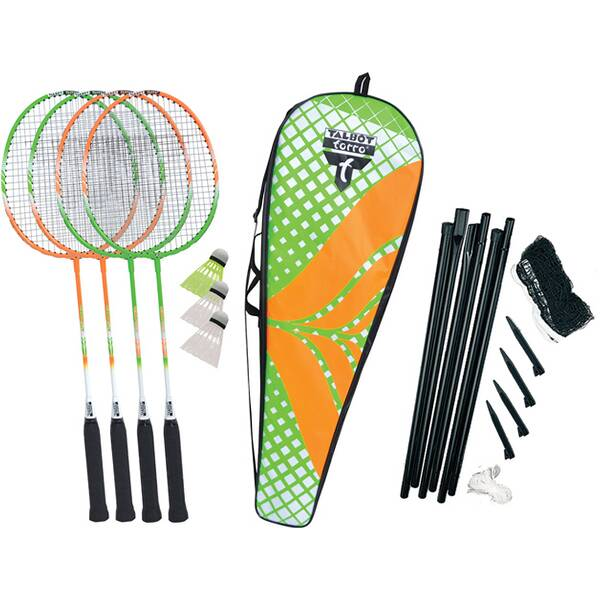 "Talbot-Torro Badminton Set ""4 Attacker Plus"""