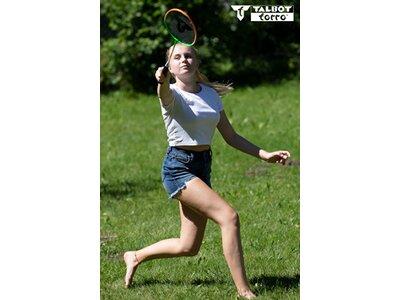 "Talbot-Torro Badminton Set ""4 Attacker Plus"" Schwarz"