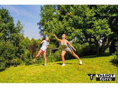 """Talbot-Torro Badminton Set """"Family"""" Blau"""