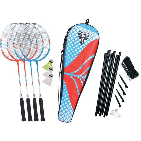 TALBOT/TORRO Badmintonset 4-FIGHTER im Thermobag
