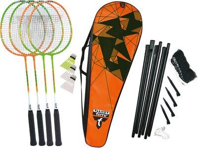 "Talbot-Torro Badminton Set ""4 Attacker Plus"" Orange"