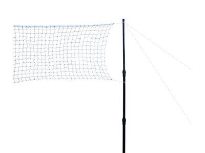 Talbot-Torro Badminton Netzgarnitur Teleskop Schwarz
