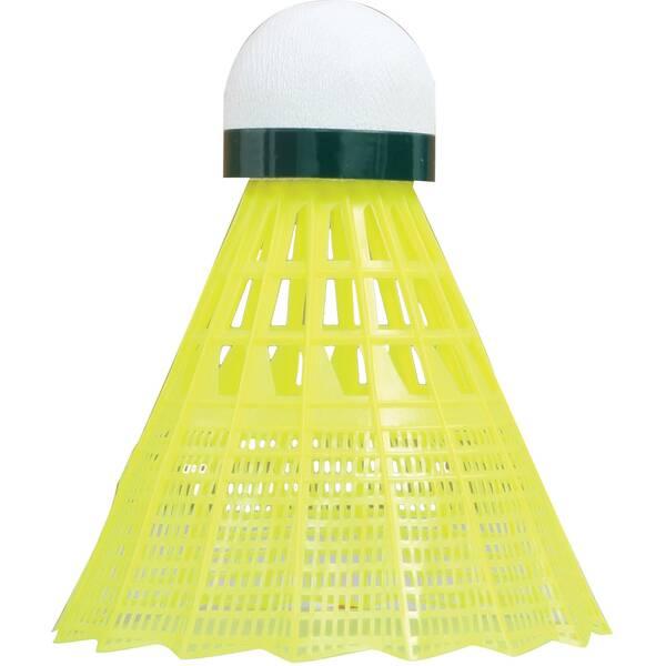 Talbot-Torro Badmintonball Tech 450, Premium Nylonfederball, 6er Dose
