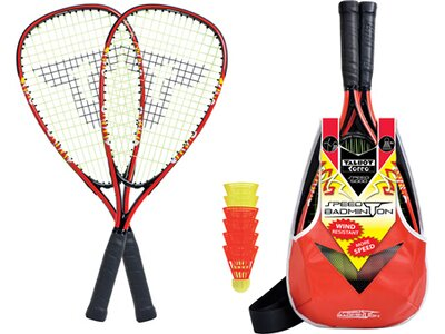 Talbot-Torro Speed Badminton Set Speed 5000 Rot