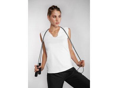 VENICEBEACH Damen T-Shirt Eleam Body Shirt Grau