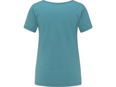 VENICE BEACH Damen T-Shirt Salliamo Body-Shirt Blau
