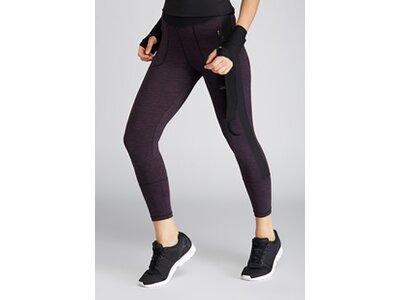 VENICE BEACH Damen 7/8 Tights Trail DAOH Schwarz