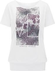 VENICE BEACH Damen T-Shirt mit Bündchen Rita 04