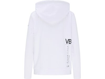 VENICE BEACH Damen Sweatshirt Ponga Kapuze Weiß