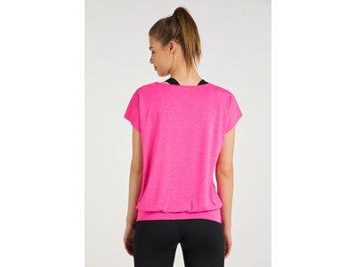 T-Shirt mit B?ndchen pink