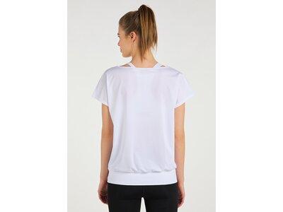 VENICE BEACH Damen Shirt VB_Mia DRT_02 T-Shirt Weiß