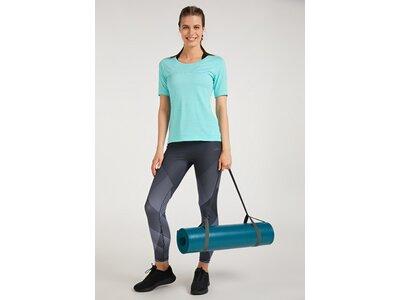 VENICE BEACH Damen Shirt VB_Peach DMELZ 01 T-Shirt Blau