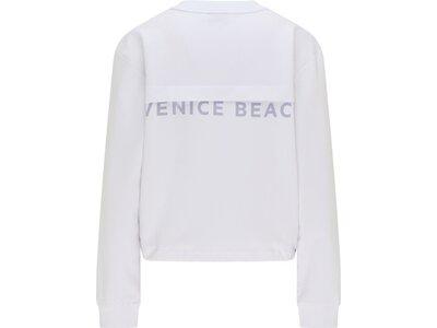 VENICE BEACH Damen Sweatshirt VB_Tollow 4021_OB01 Sweatshirt Weiß
